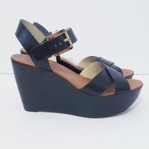 Michael Kors Abbott Platform Sandals Size 8 M